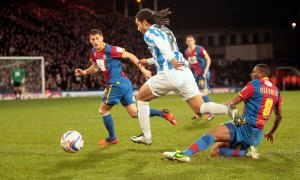 Crystal Palace (1) v Huddersfield Town (1) - Sean Scannell.